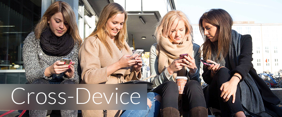Cross-Device-Werbung am Campus