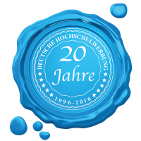 20 Jahre Deutsche Hochschulwerbung