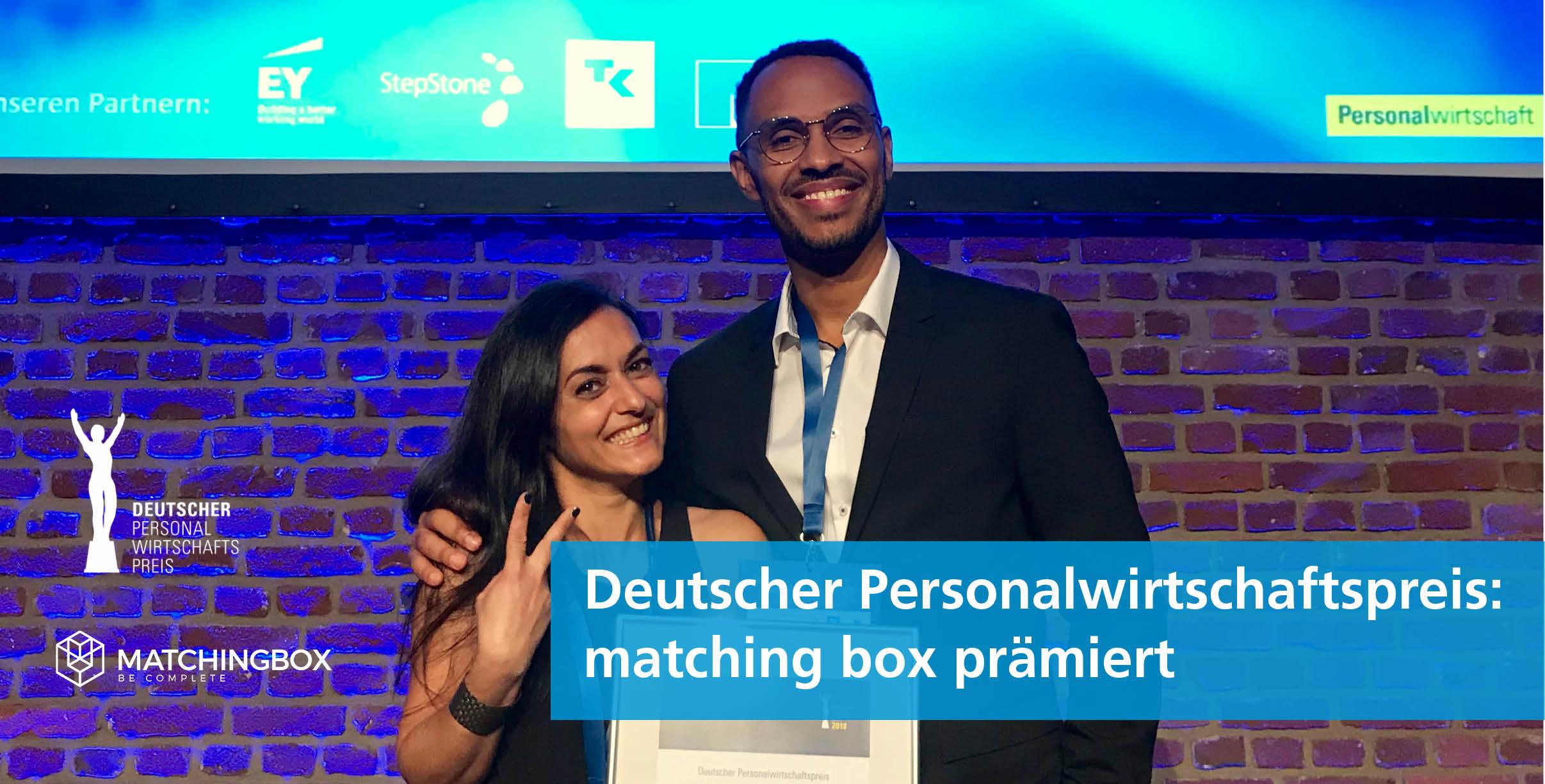matching box Deutscher Personalwirtschaftspreis