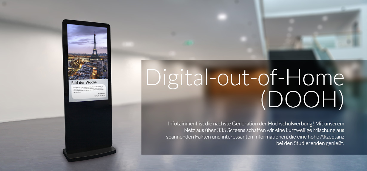 Digital-out-of-Home (DOOH)