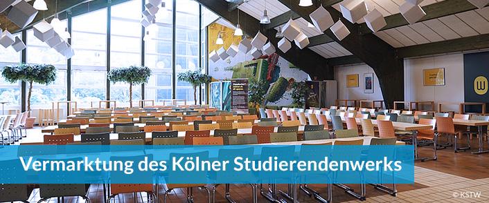 Werbung im Studierendenwerk Köln