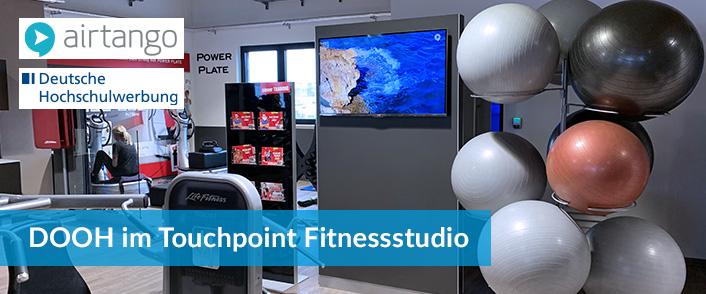 DOOH in Fitnessstudios